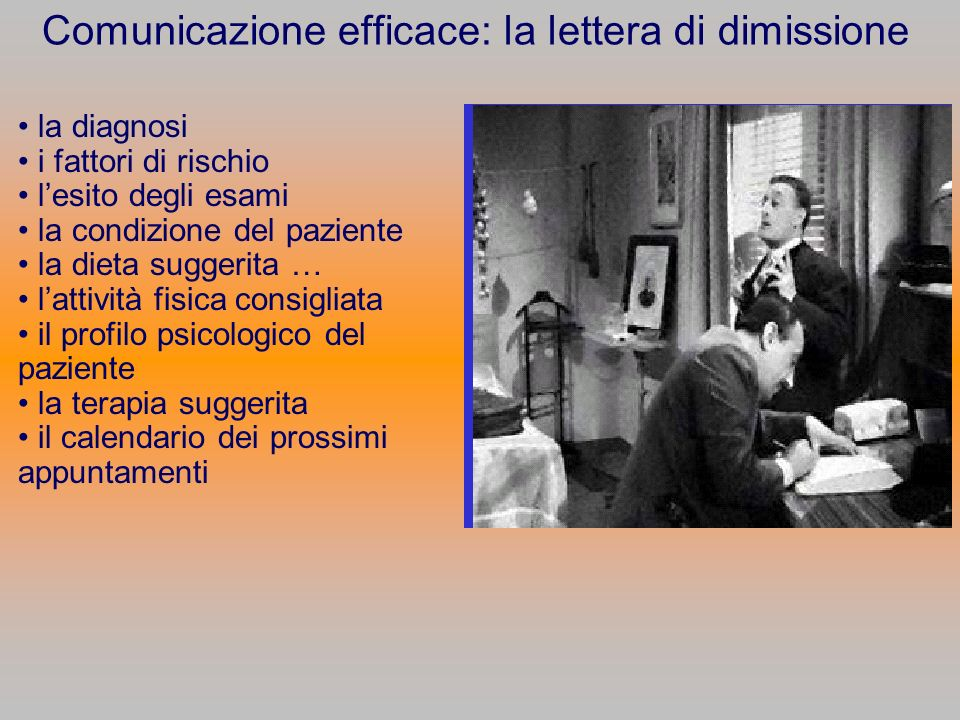 Comunicazione efficace: la lettera di dimissione
