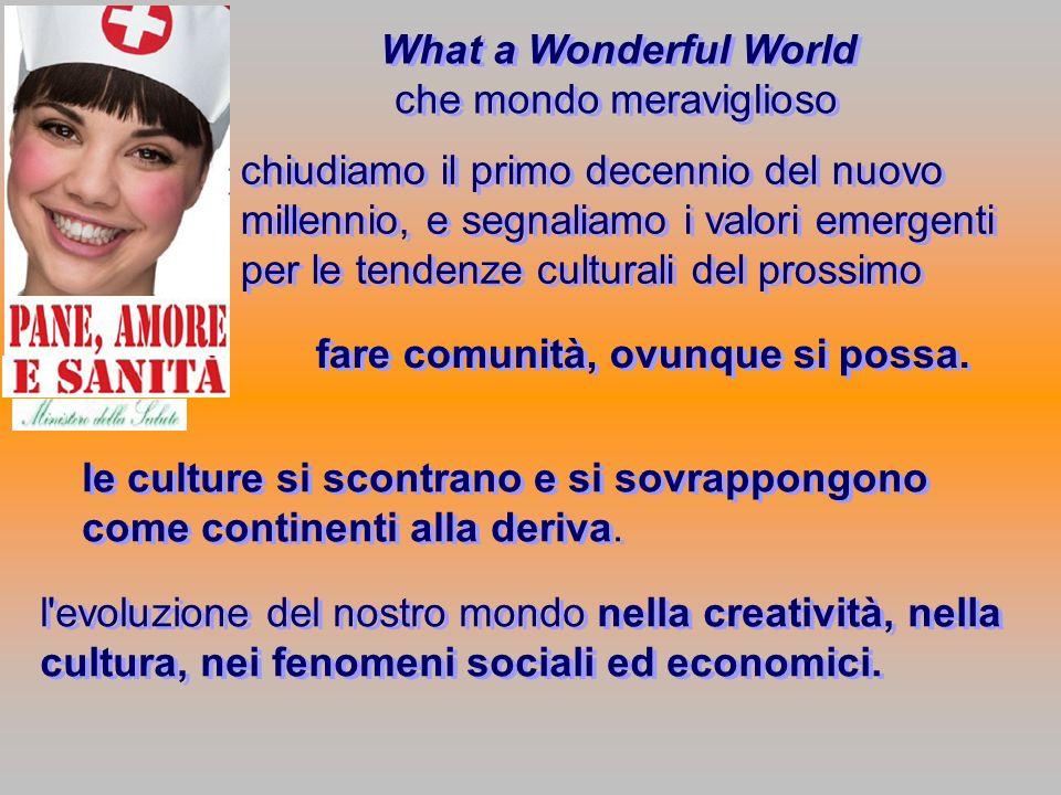 che mondo meraviglioso