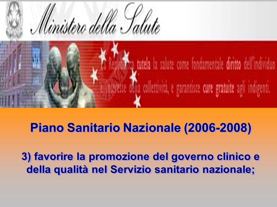 Piano Sanitario Nazionale (2006-2008)