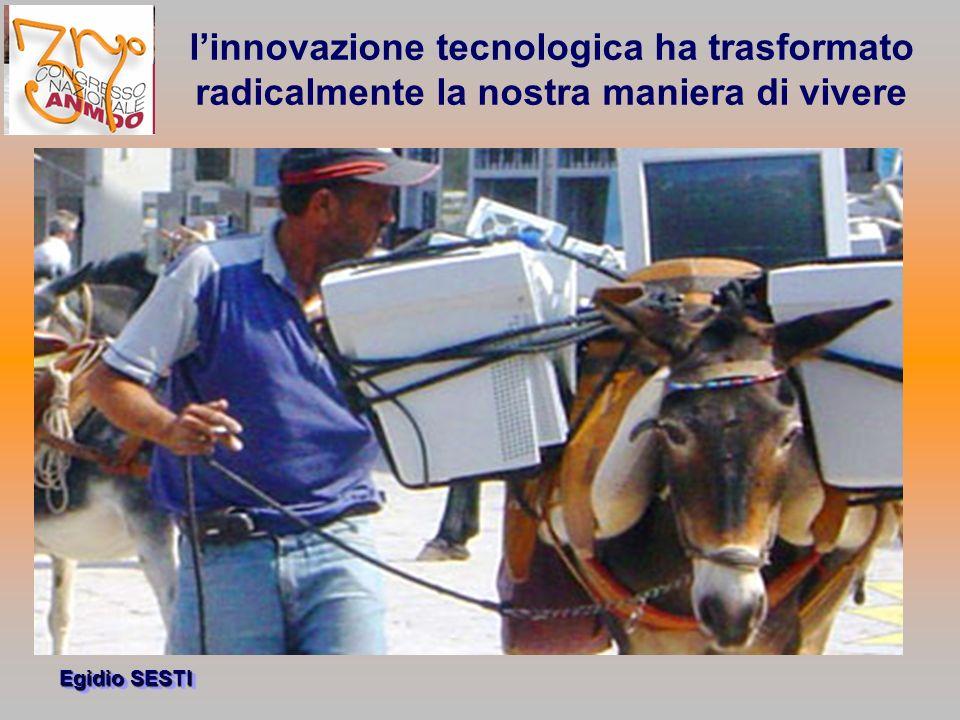 l'innovazione tecnologica ha trasformato radicalmente la nostra maniera di vivere