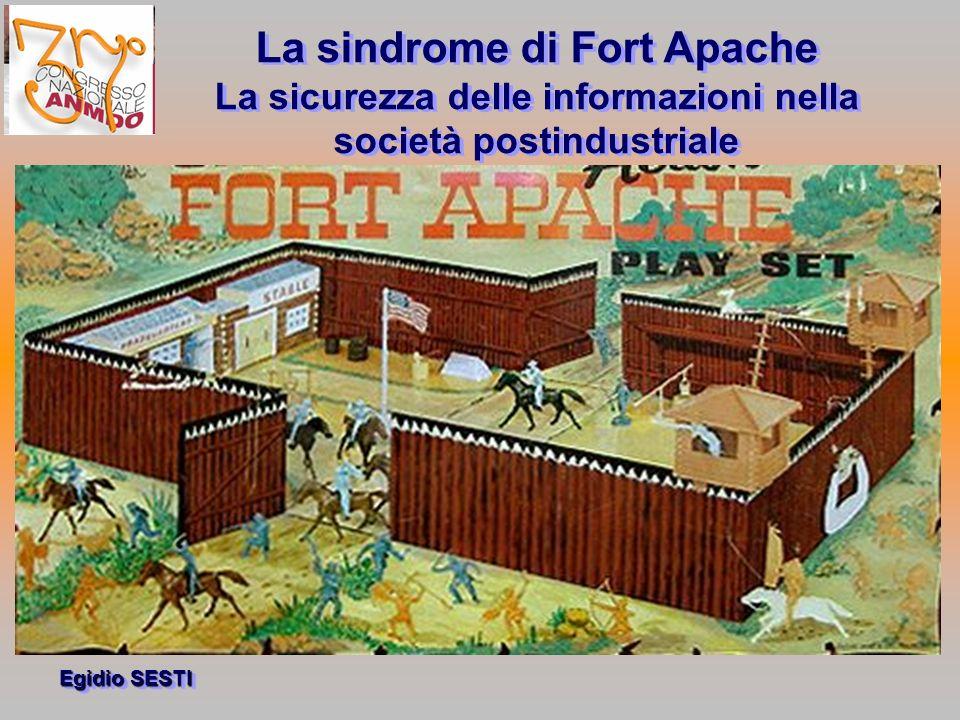 La sindrome di Fort Apache La sicurezza delle informazioni nella