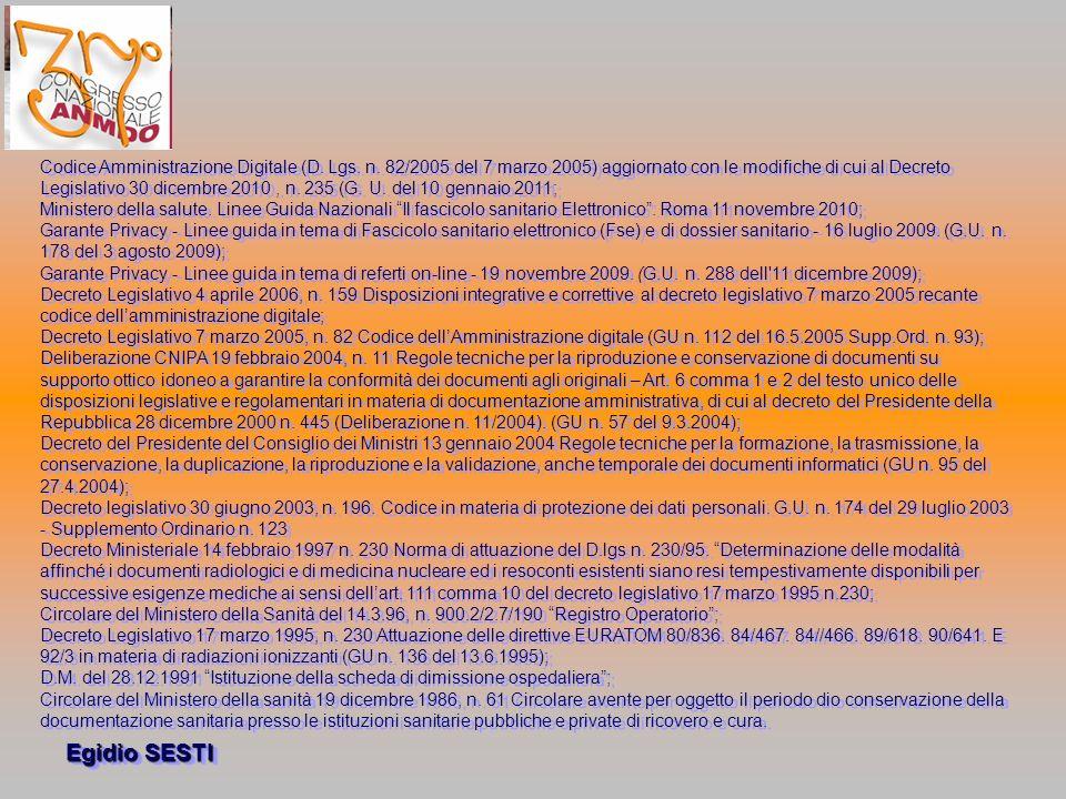 Codice Amministrazione Digitale (D. Lgs. n