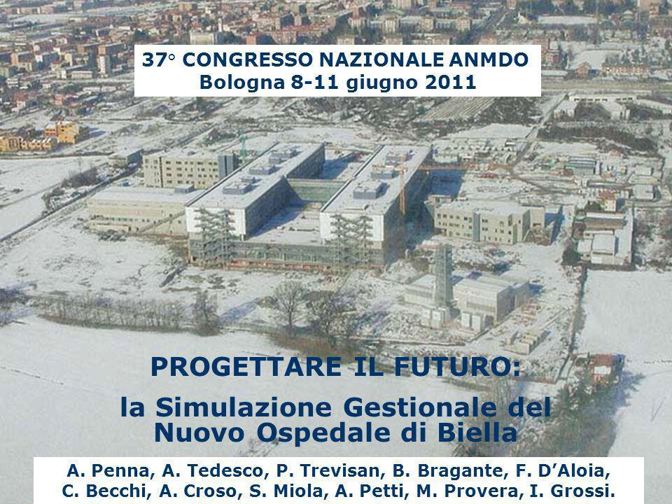 la Simulazione Gestionale del Nuovo Ospedale di Biella