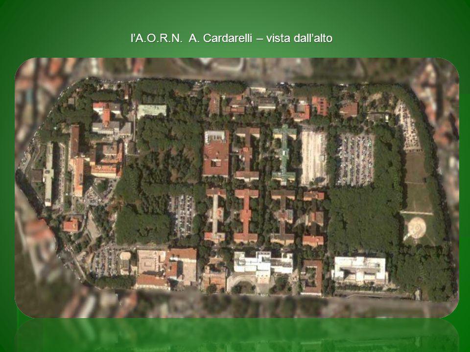 l'A.O.R.N. A. Cardarelli – vista dall'alto