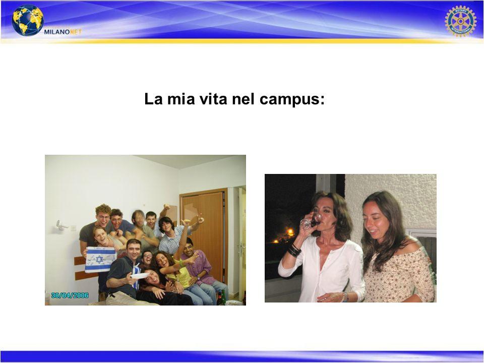 La mia vita nel campus: