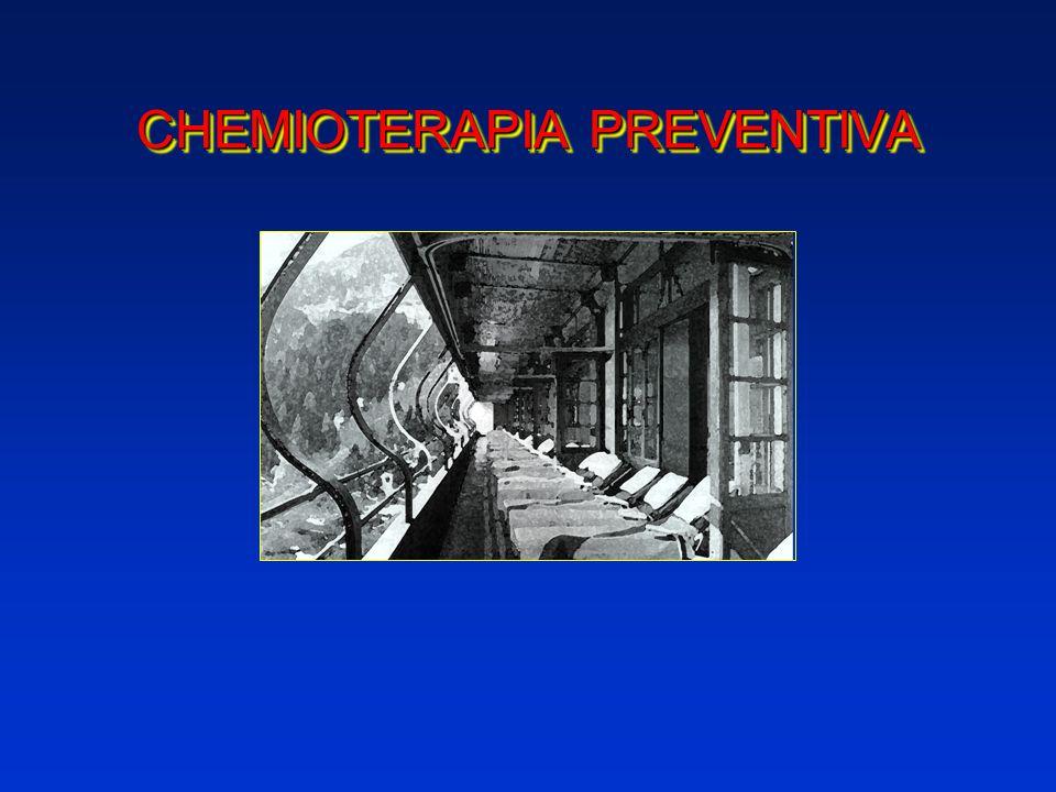 CHEMIOTERAPIA PREVENTIVA