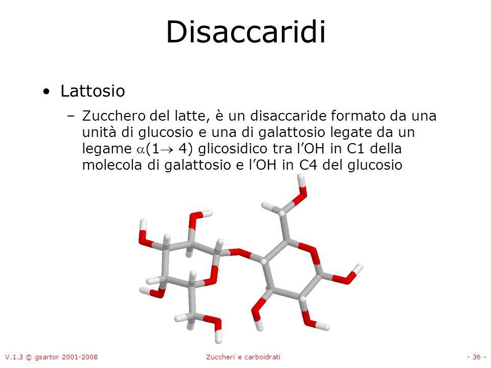 Zuccheri e carboidrati