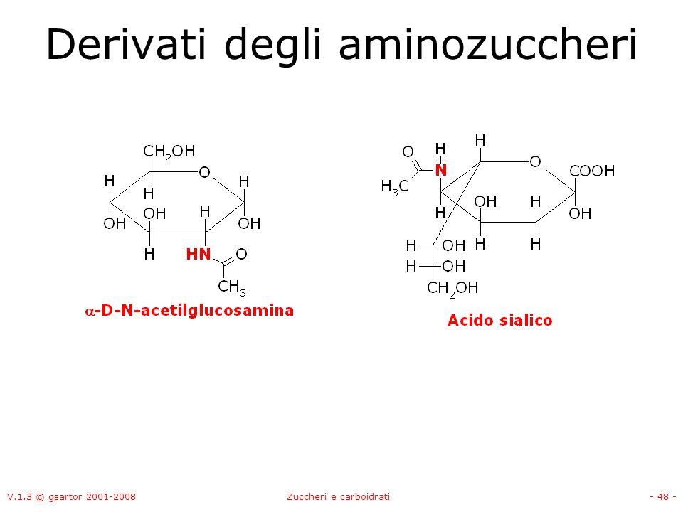 Derivati degli aminozuccheri