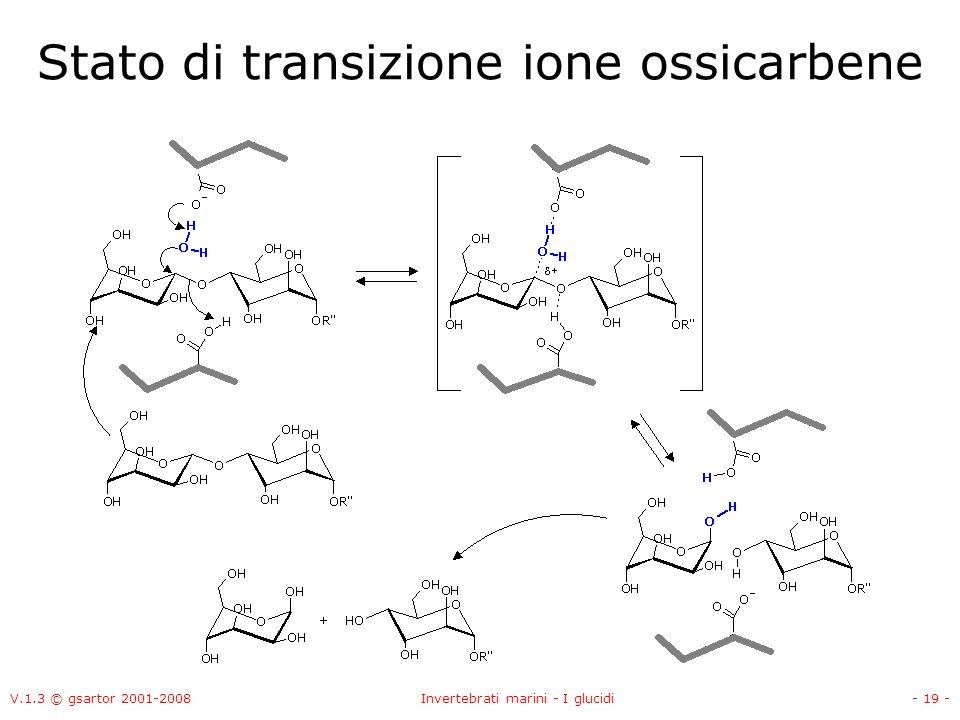 Stato di transizione ione ossicarbene