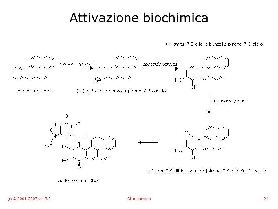 Attivazione biochimica