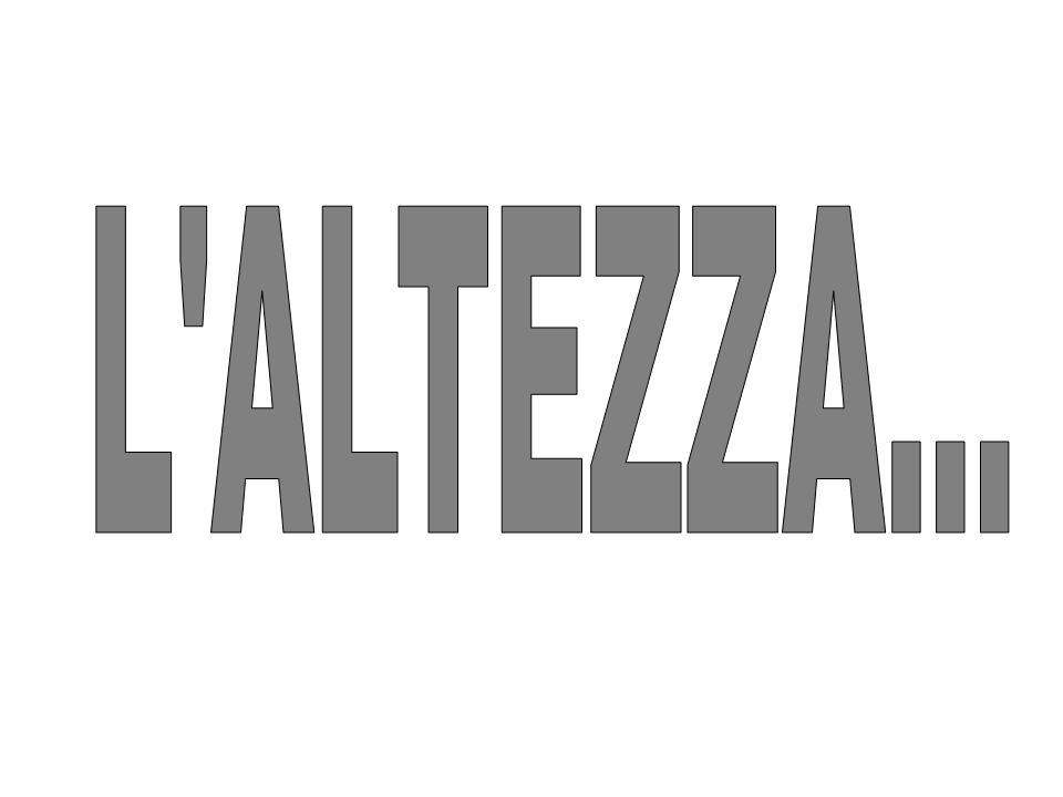 L ALTEZZA... 1