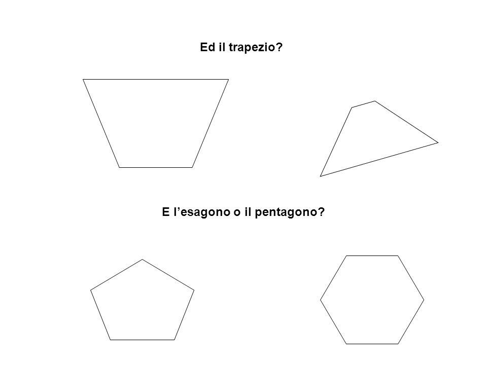 E l'esagono o il pentagono