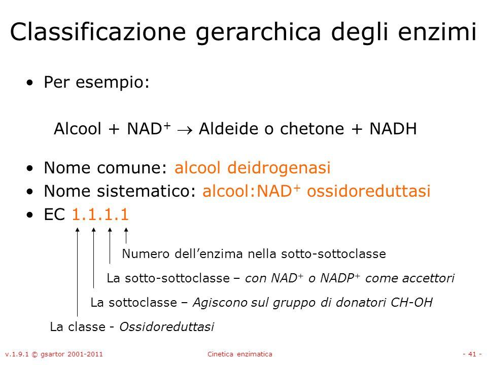 Classificazione gerarchica degli enzimi