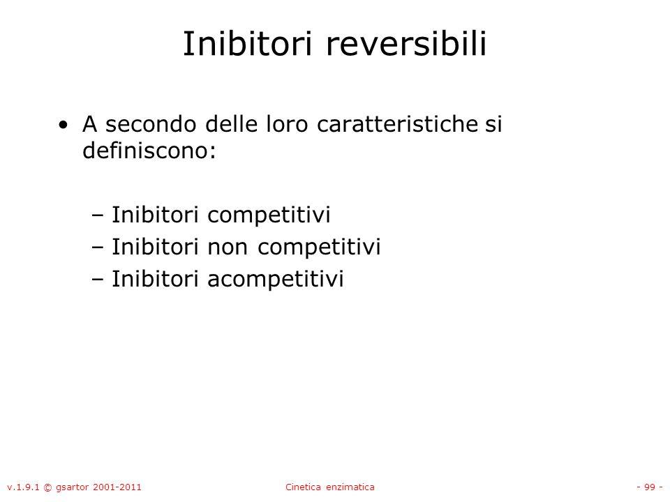 Inibitori reversibili