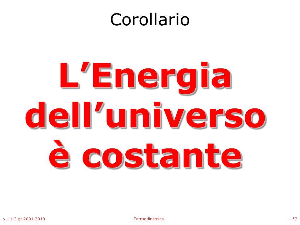 L'Energia dell'universo è costante