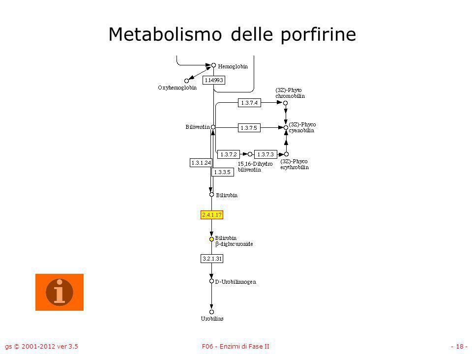 Metabolismo delle porfirine