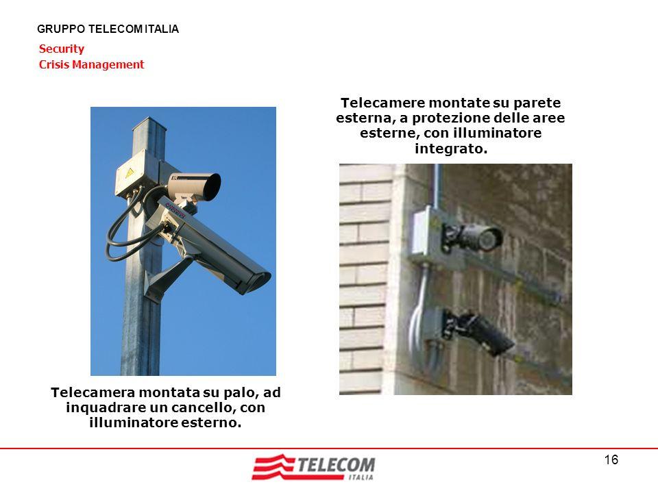 GRUPPO TELECOM ITALIA Security. Crisis Management.