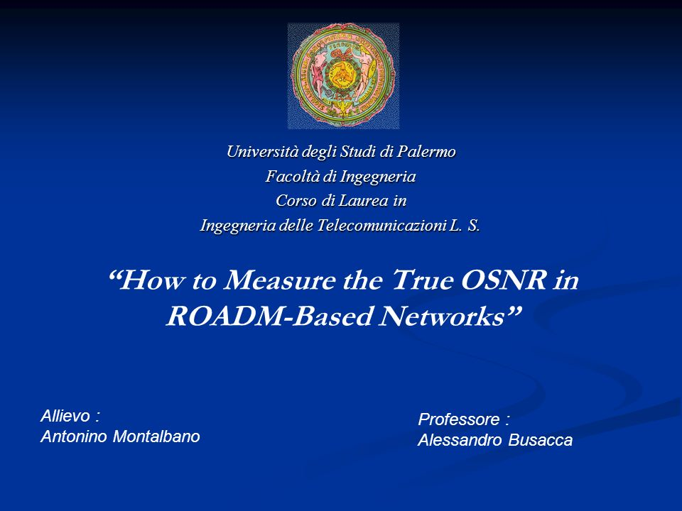 How to Measure the True OSNR in ROADM-Based Networks