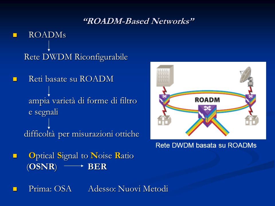 ROADM-Based Networks