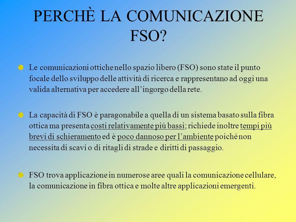 PERCHÈ LA COMUNICAZIONE FSO