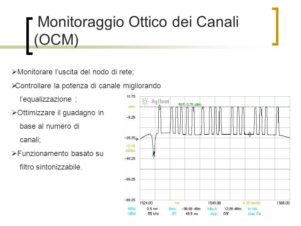 Monitoraggio Ottico dei Canali (OCM)