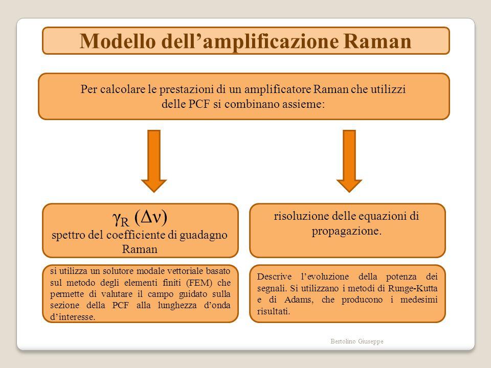 Modello dell'amplificazione Raman