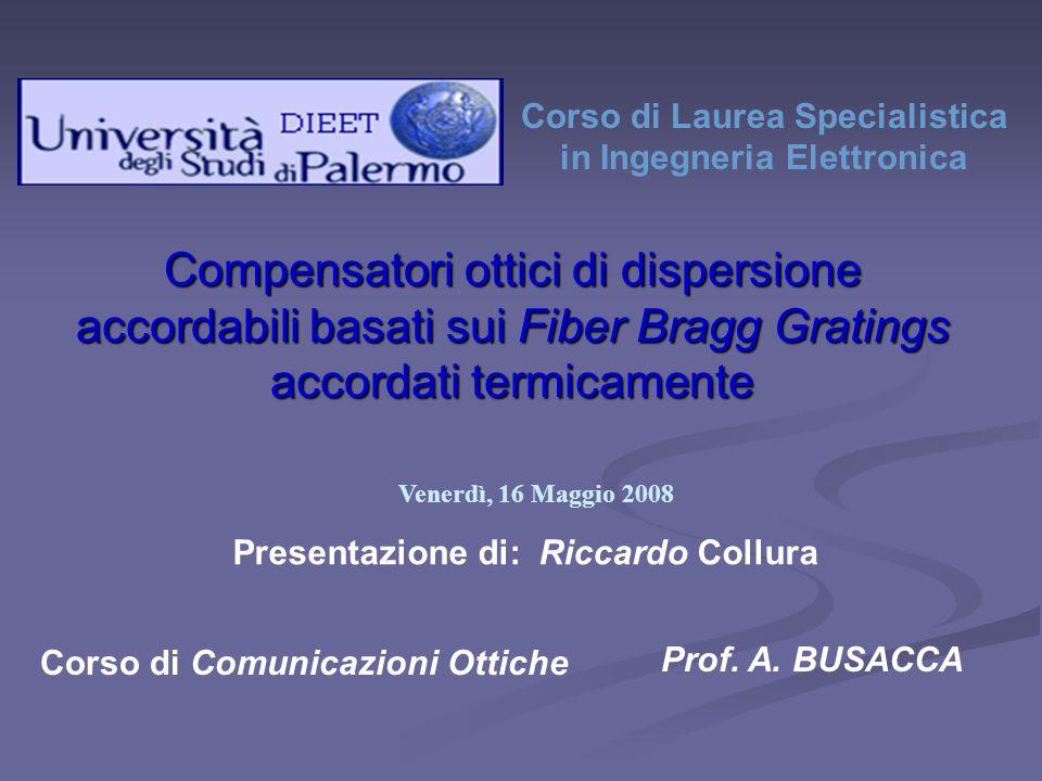 Presentazione di: Riccardo Collura