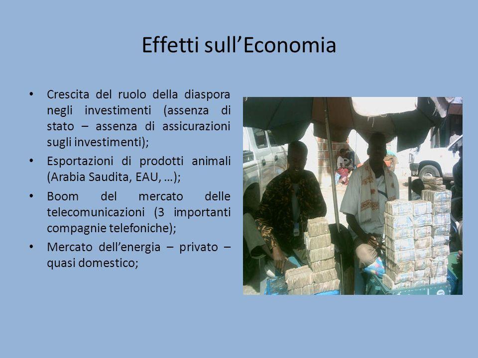 Effetti sull'Economia