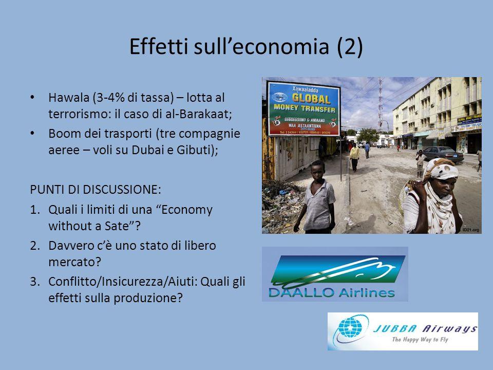 Effetti sull'economia (2)