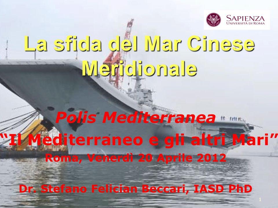 La sfida del Mar Cinese Meridionale
