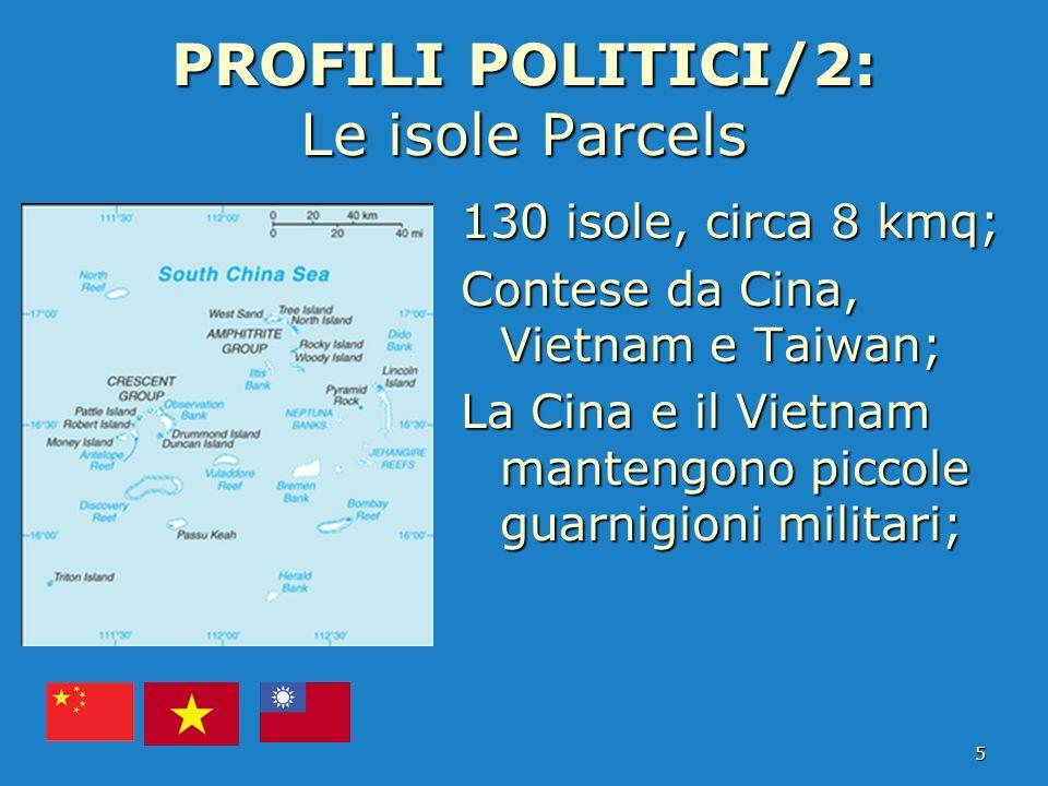 PROFILI POLITICI/2: Le isole Parcels
