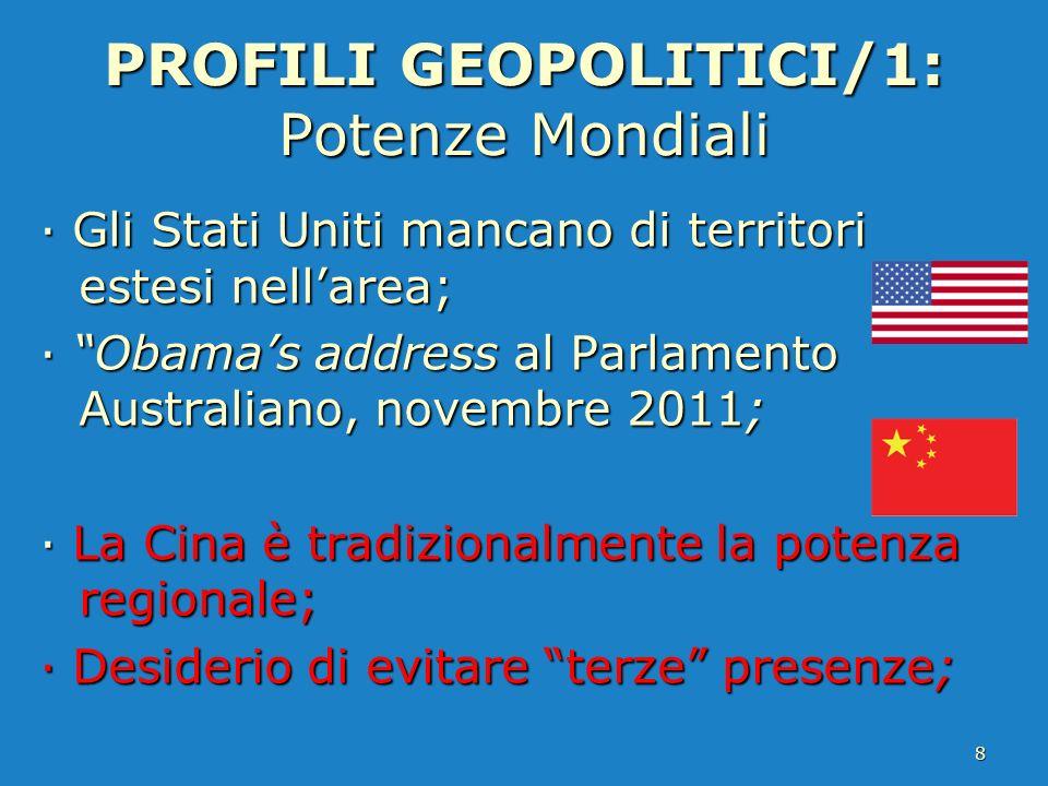 PROFILI GEOPOLITICI/1: Potenze Mondiali