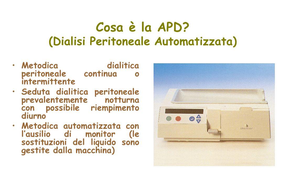 Cosa è la APD (Dialisi Peritoneale Automatizzata)