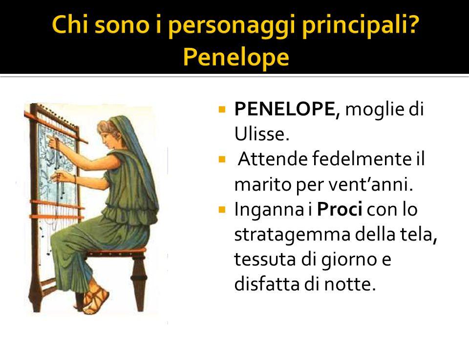 Chi sono i personaggi principali Penelope