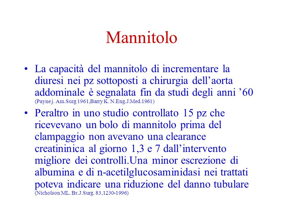 Mannitolo