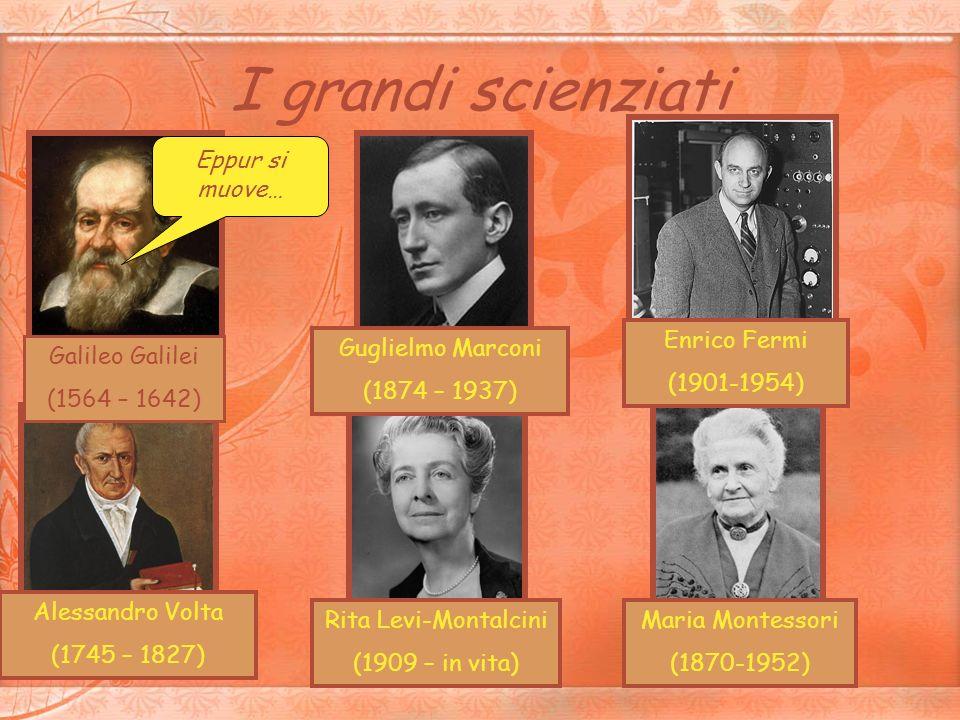 I grandi scienziati Eppur si muove… Enrico Fermi (1901-1954)