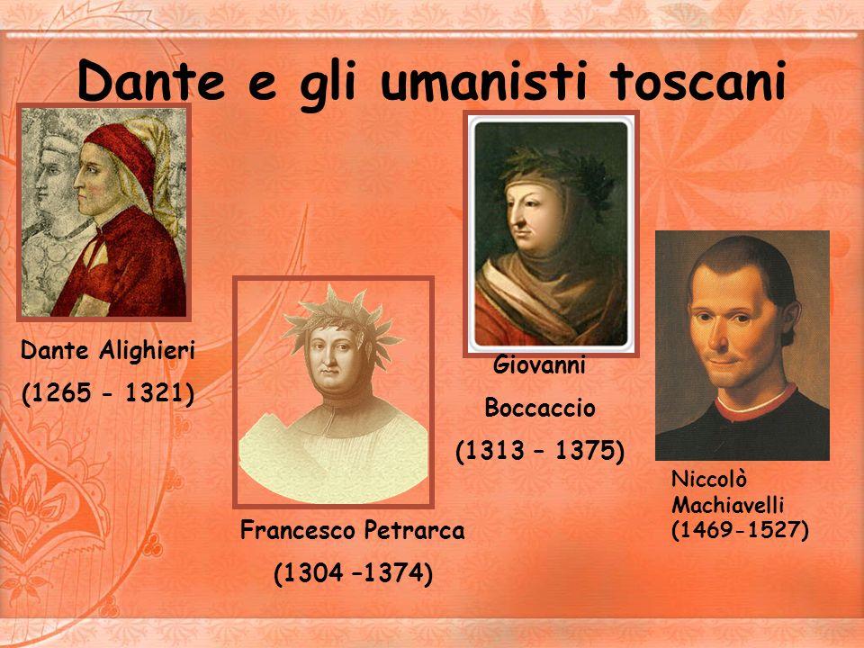 Dante e gli umanisti toscani