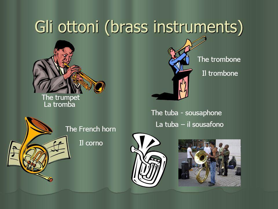 Gli ottoni (brass instruments)