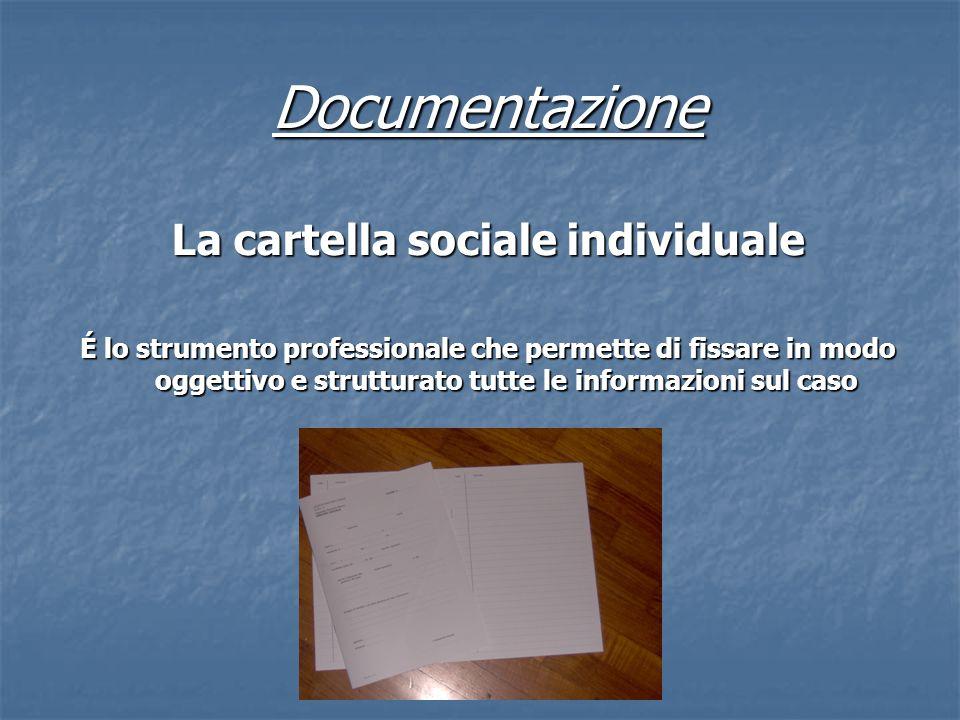 La cartella sociale individuale
