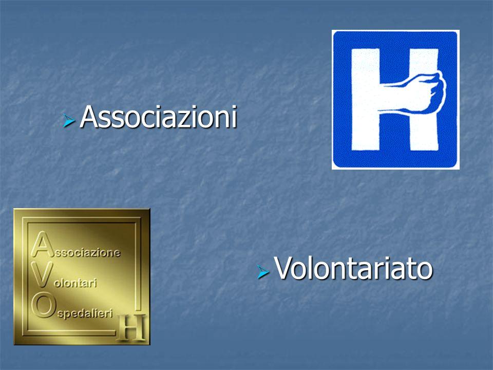 Associazioni Volontariato