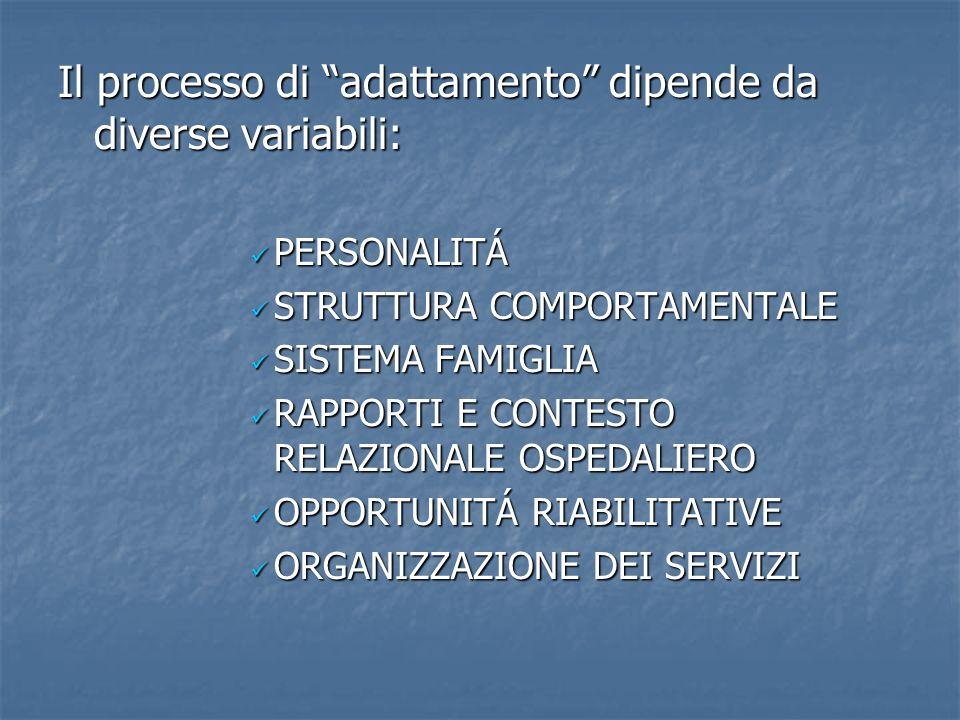 Il processo di adattamento dipende da diverse variabili: