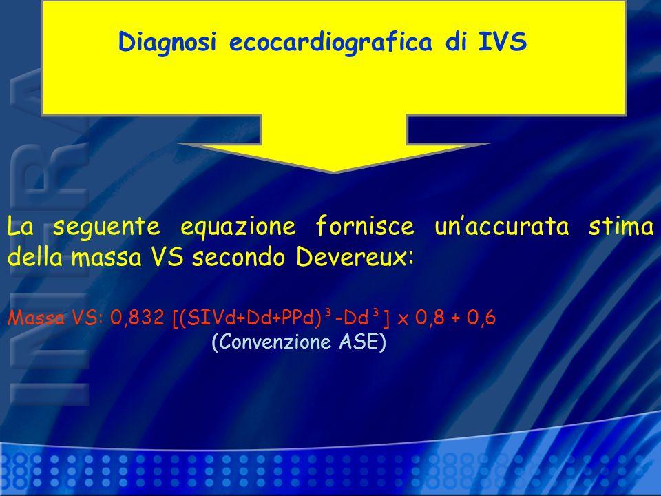 Diagnosi ecocardiografica di IVS