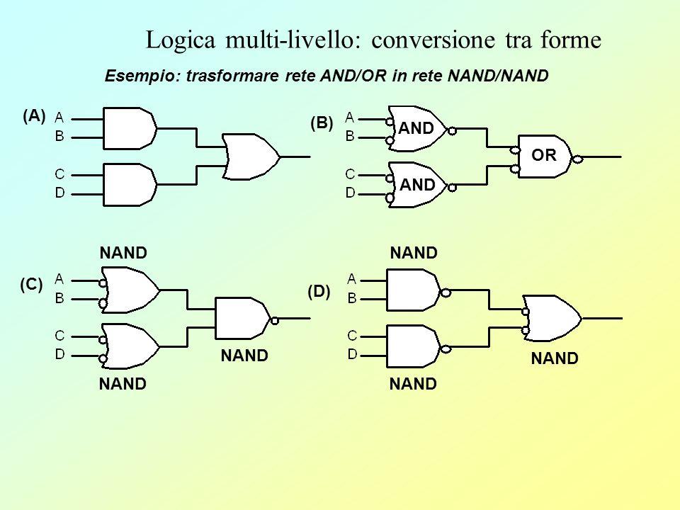 Logica multi-livello: conversione tra forme