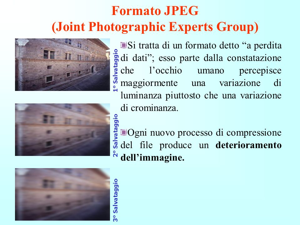 Formato JPEG (Joint Photographic Experts Group)