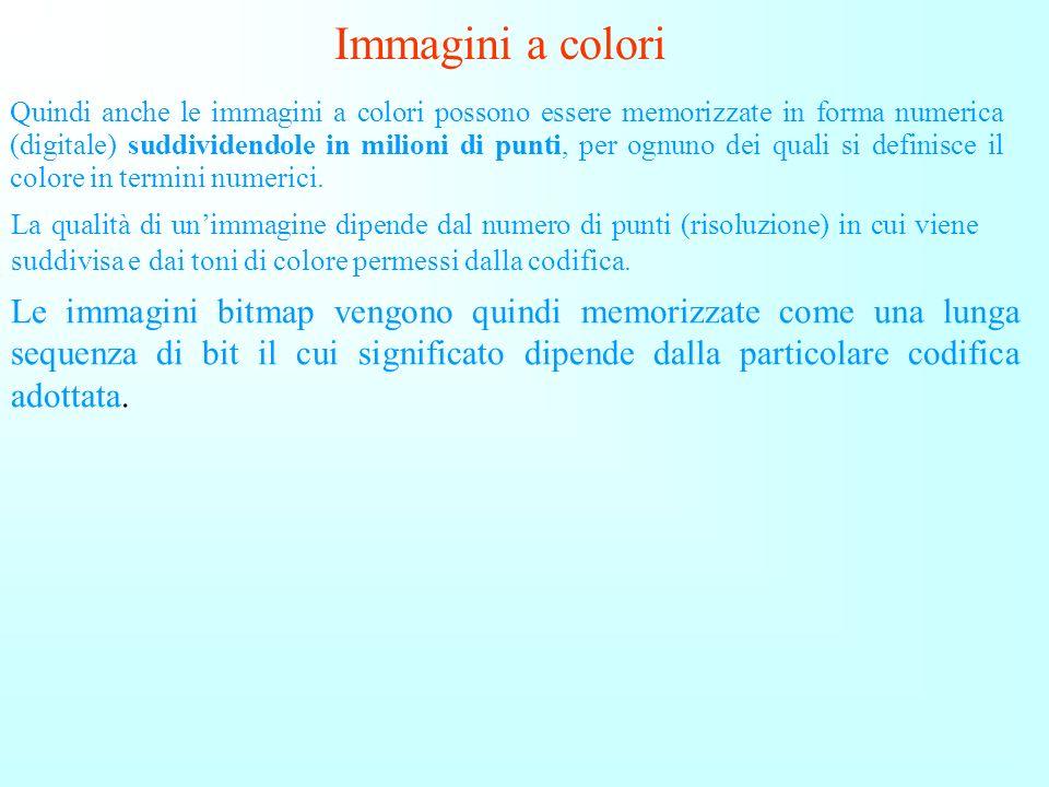 Immagini a colori