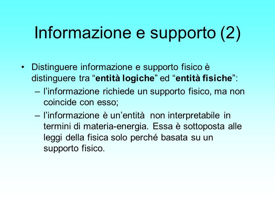 Informazione e supporto (2)