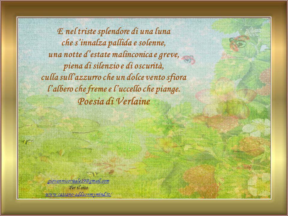 Poesia di Verlaine E nel triste splendore di una luna