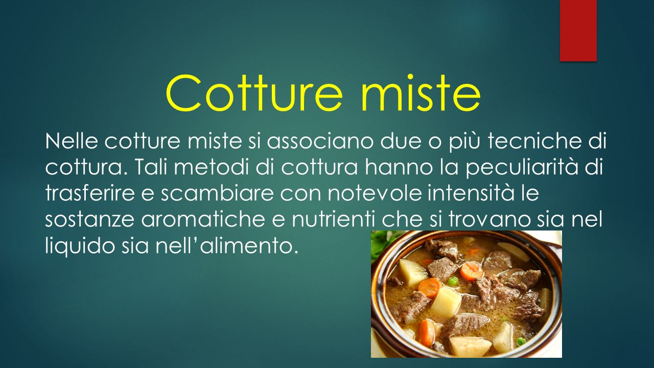 Cotture miste