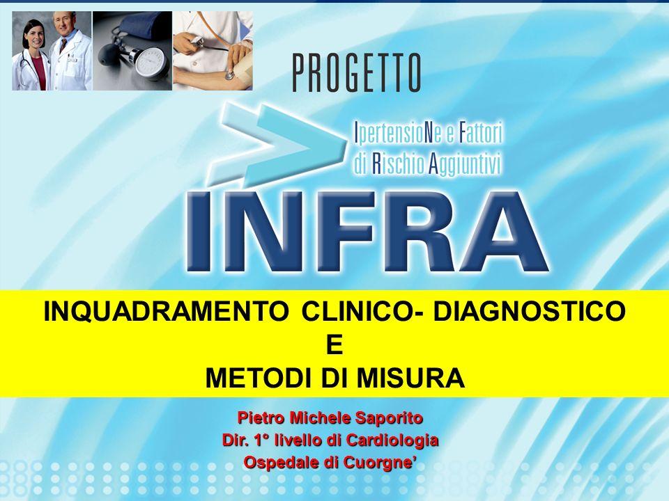 INQUADRAMENTO CLINICO- DIAGNOSTICO E METODI DI MISURA