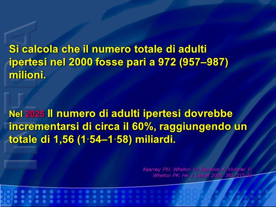 Si calcola che il numero totale di adulti
